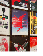 Large format Portuguese street posters – the first in the Idioms exhibition series